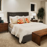 Holiday remodeled bedroom in Kingwood TX