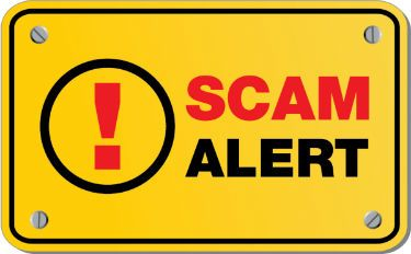 Home remodeling contractor scam alert sign